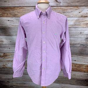 Brooks Brothers Button Shirt Lavender Extra Slim